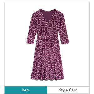 41 Hawthorn Renesme Fall Wrap Dress